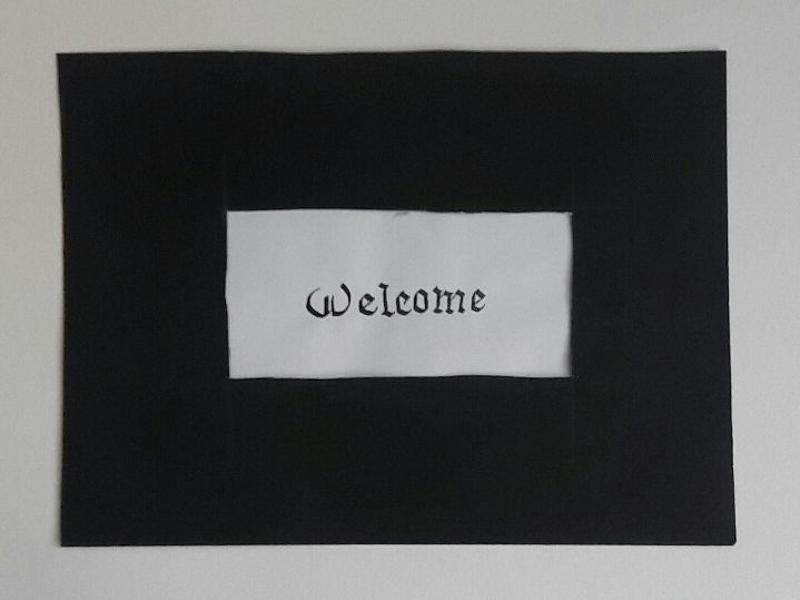 Welcome - Calligraphy Collection