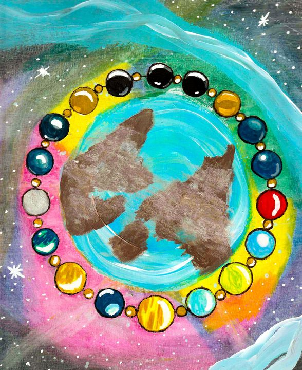 The pearls of the univers - Melanie N Creations