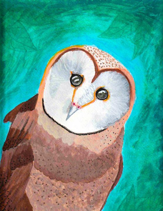 Barn owl - Melanie N Creations