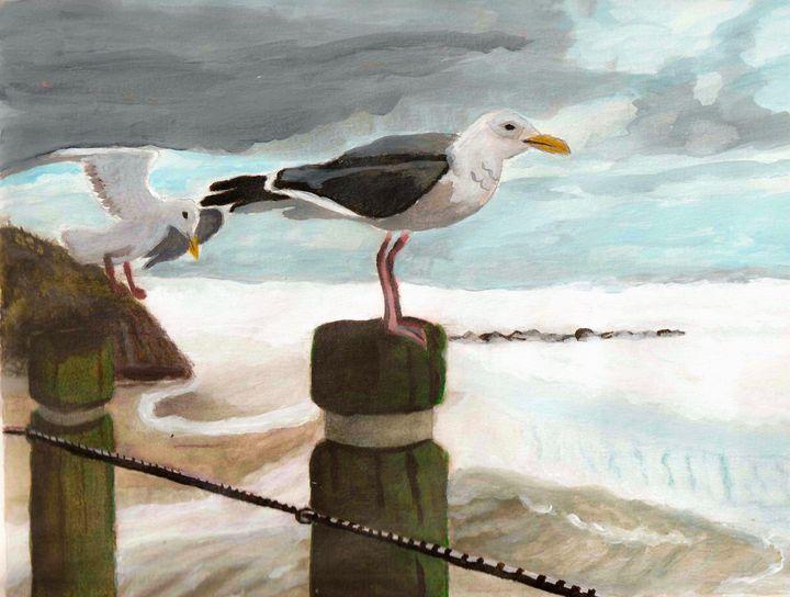 Seagulls - Melanie N Creations