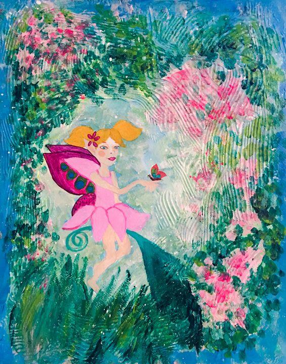 Fairy garden - Melanie N Creations