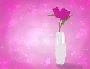 Minimalist flower vase