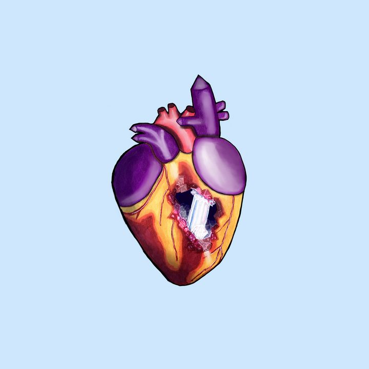 My heart of stone - Melanie N Creations