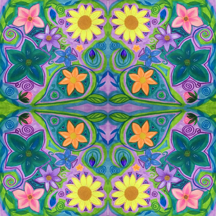 Flower power - Melanie N Creations