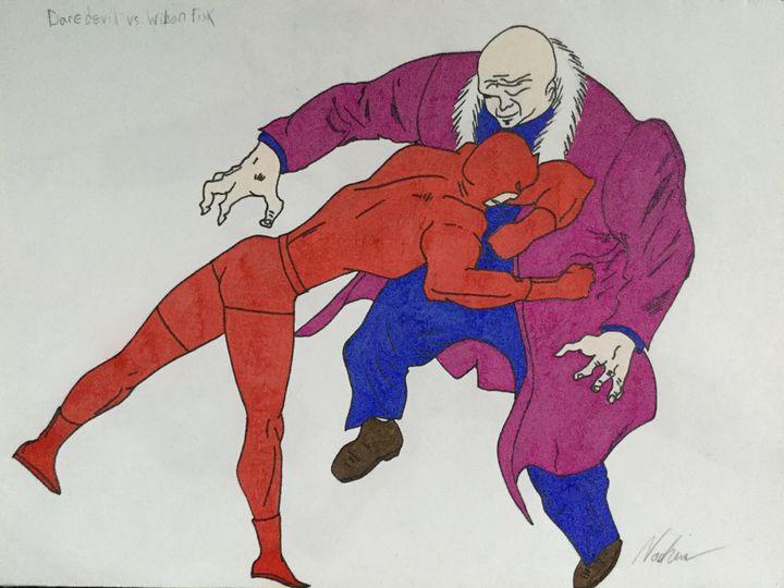 Marvels Daredevil Vs Wilson Fisk - Ezart