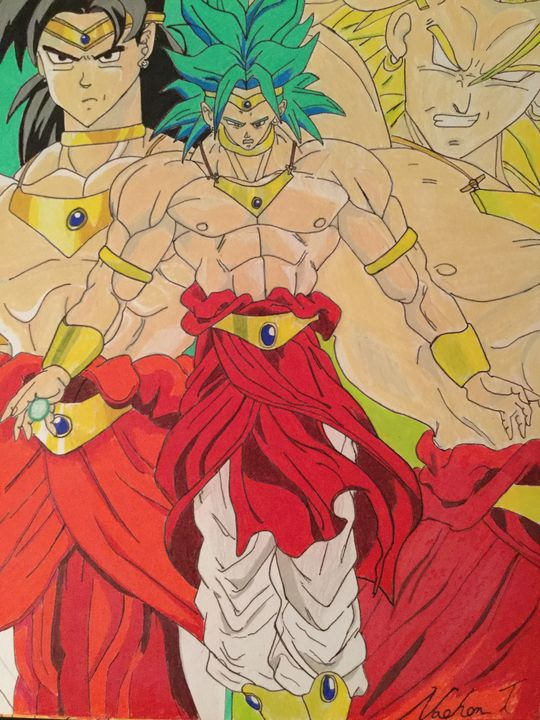 Broly The Legendary Super Saiyan - Ezart