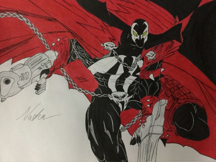 Spawn (Full Image) - Ezart