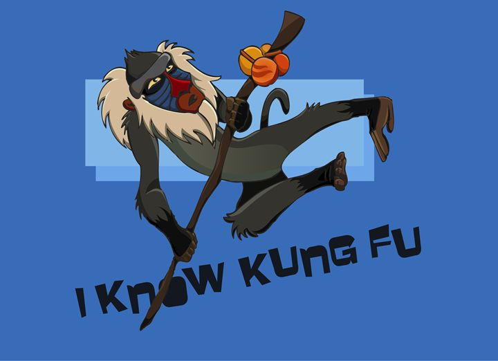 I Know Kung Fu - Tiffany Asher - Art and Gallery