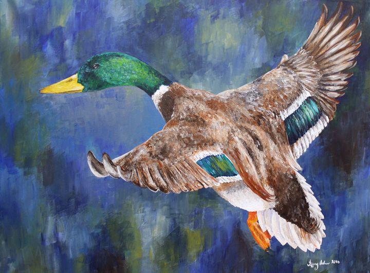 Mallard Duck - Tiffany Asher - Art and Gallery