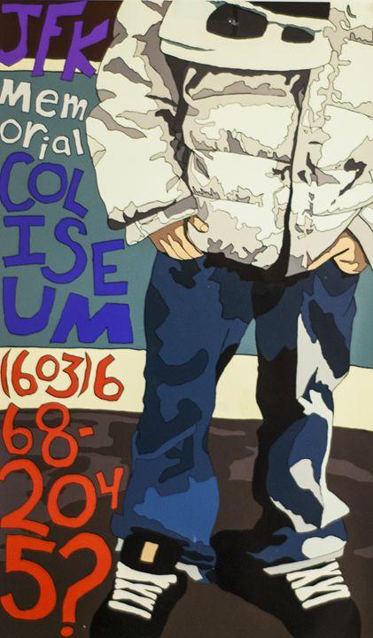 Skate Rink Poster - Tazio Yandell