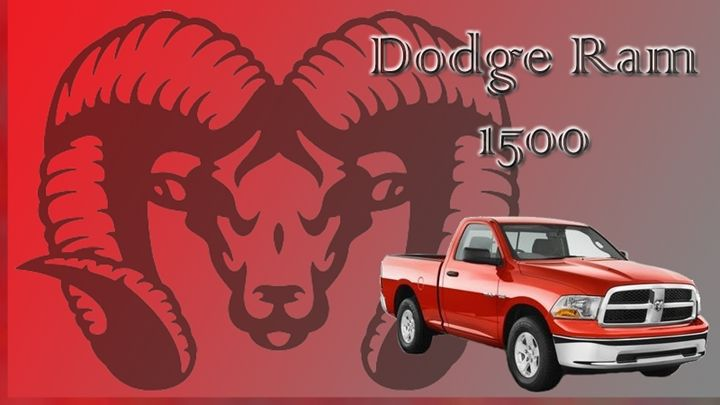 Dodge Ram 1500 - Jujubee's Art Canvas
