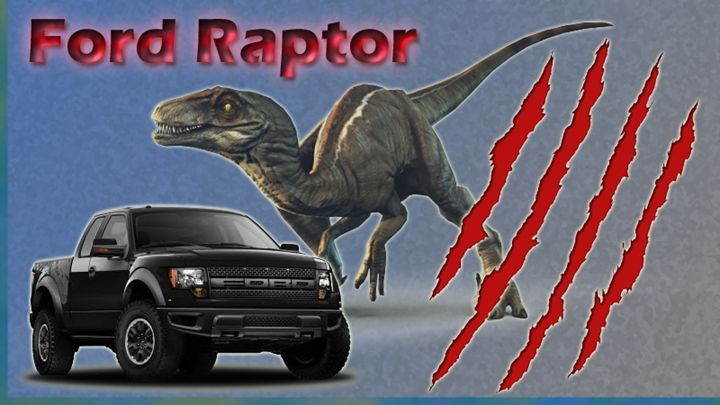 Ford Raptor - Jujubee's Art Canvas