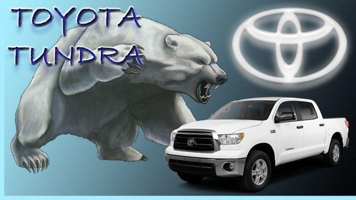 Toyota Tundra - Jujubee's Art Canvas