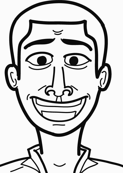 smiling face - Gyamfi