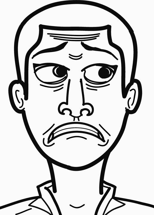 scared face - Gyamfi
