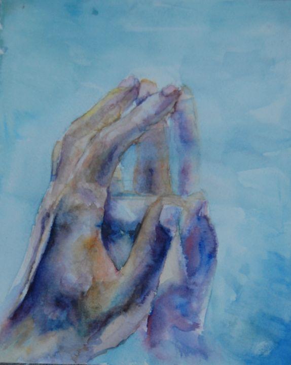 Hand reflection - Stefanaglog