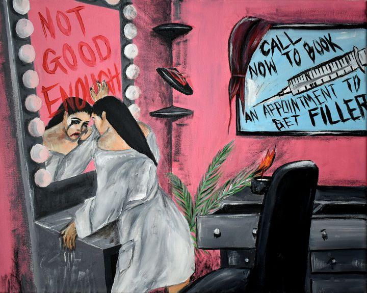 Not Good Enough - Elizabeth Caisedo