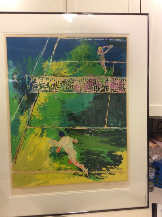 Blood Tennis by Leroy Neiman #AP - Butchies Be¥ond Normal