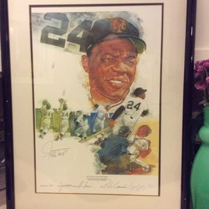 Willie Mays 660 life time Homeruns