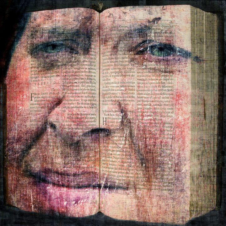 Bookface - Brut Carniollus Digital Art