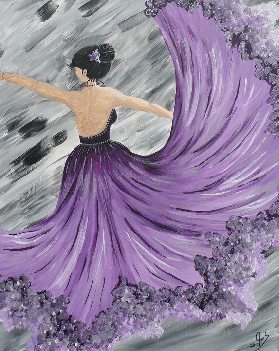 Lavender Grace - JMStarritt Artwork