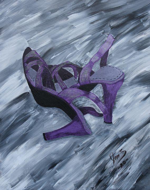 Dance the Shoes Off - JMStarritt Artwork