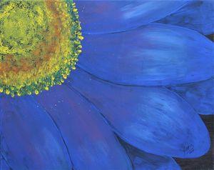 Blue Delight - JMStarritt Artwork