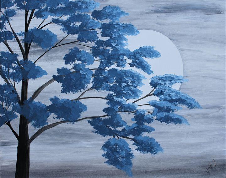 Night Time Blues - JMStarritt Artwork