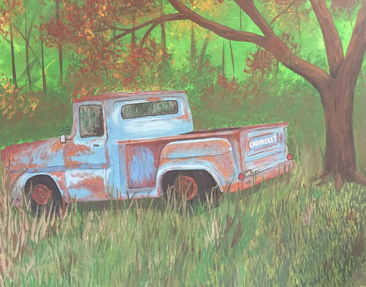 Old Chevy - JMStarritt Artwork