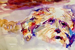 Abstract cuteness - Therese Basha