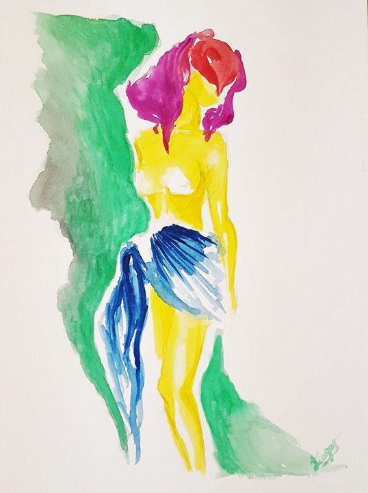 Estudo corpo feminino - Tiago Segundo