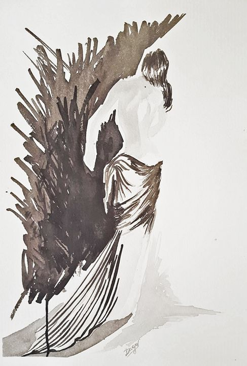 Mulher de costas - Tiago Segundo