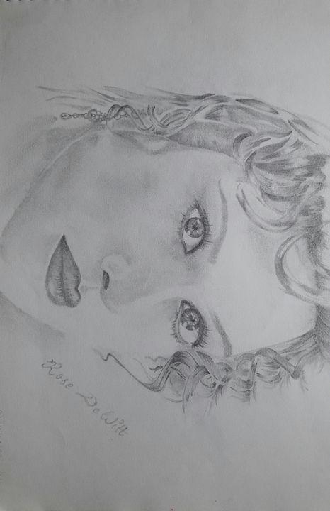 Girl Potrait - Art evolution