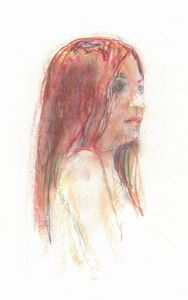 Straight Red Haired Woman