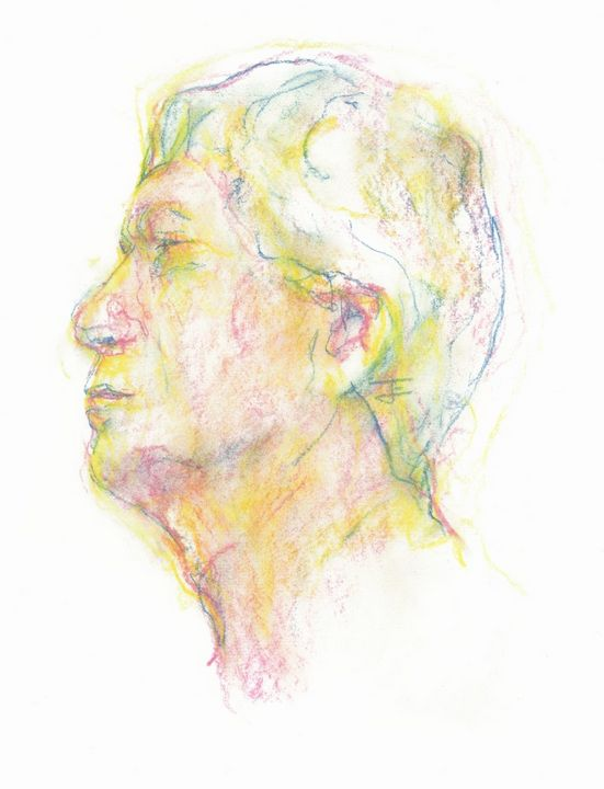 Yellow Male Head - Jeremy Eliosoff