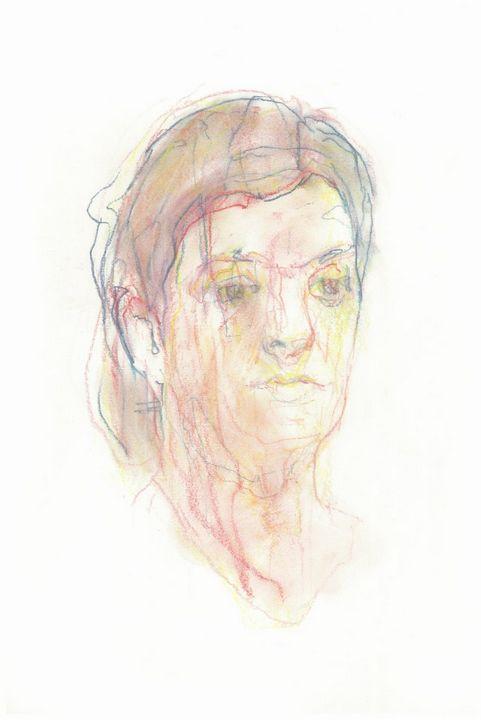 Faint Female Head - Jeremy Eliosoff