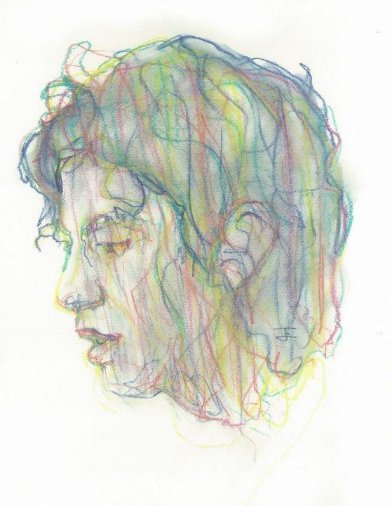Green Woman's Head - Jeremy Eliosoff
