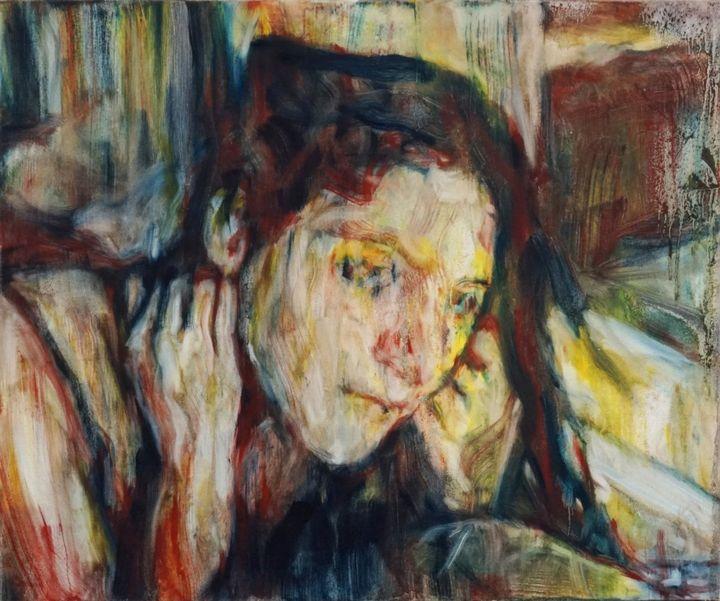 Girl by Window - Jeremy Eliosoff