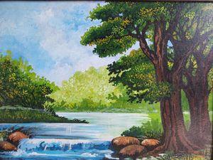 Acrylic scenery