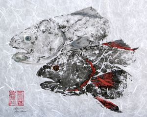 Redfish Head Duo - no Border
