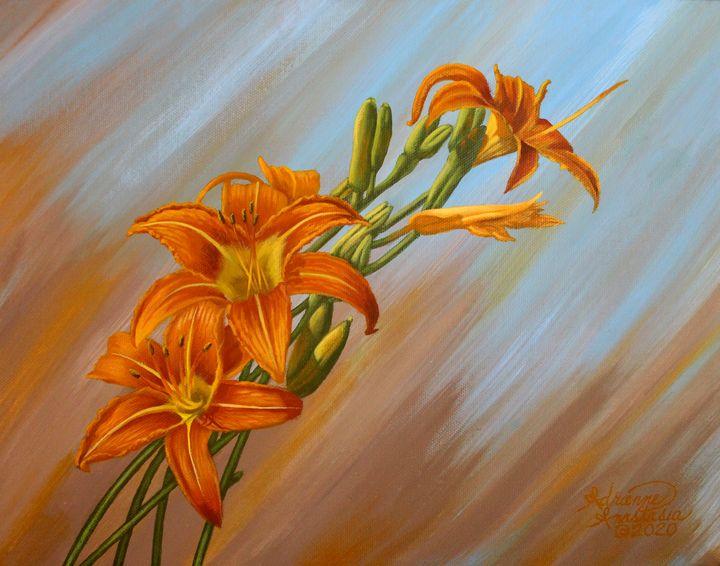 Ditch Lilies - Adrienne Anastasia