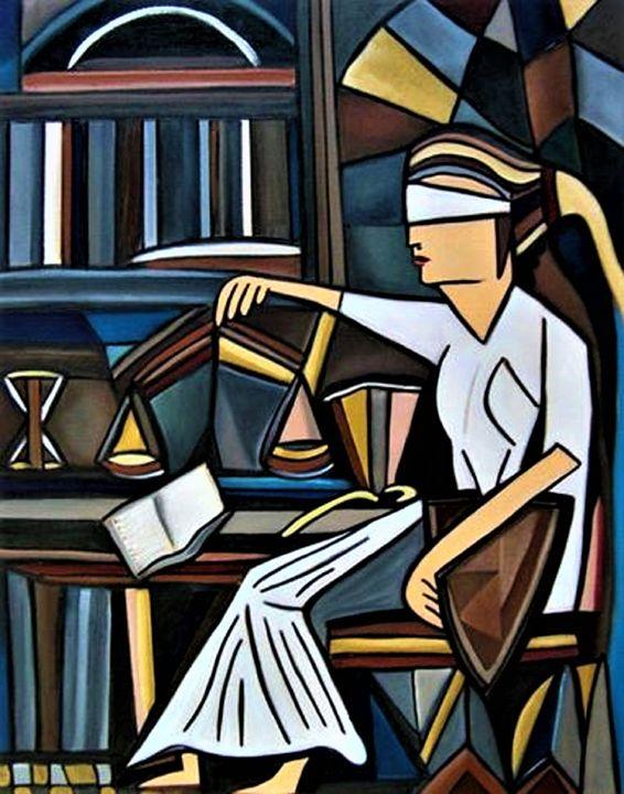 Blind Justice - Karen Serfinski