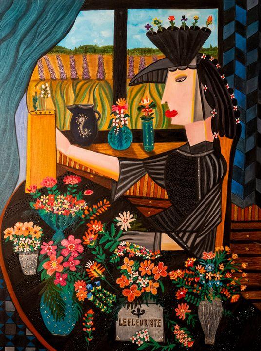 le fleuriste - Karen Serfinski