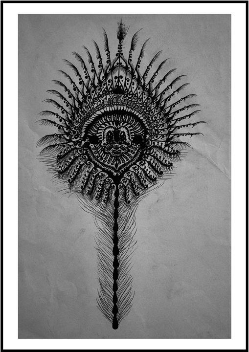 Peacock Feather - Dayalan Oviyan
