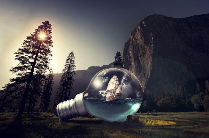 aqua bulb - Tiljo's art