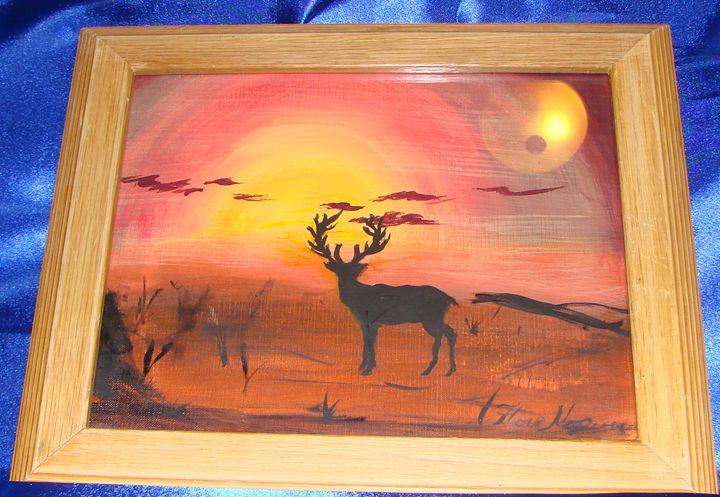 My Deer Silhouette - Creations by Flora