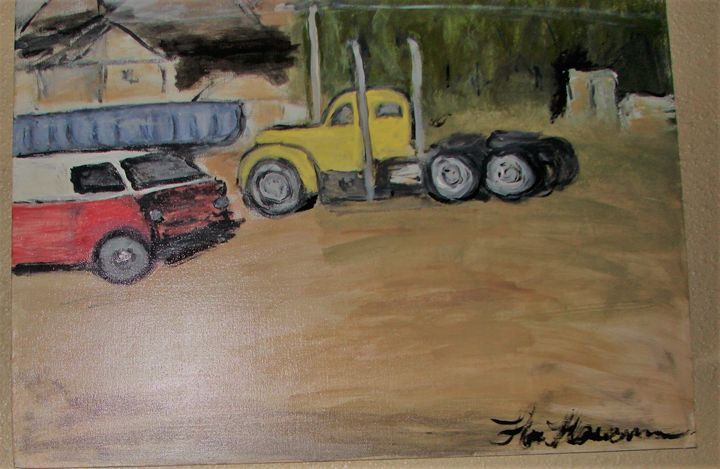 Truck and Van - Creations by Flora