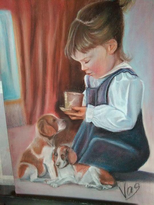Morning coffe - my world of art