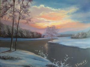 Ukrainian winter landscape