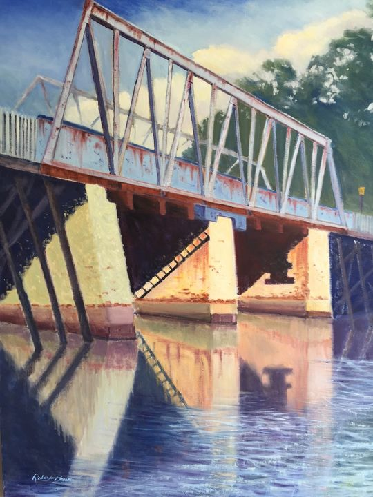 Bridge at Port Republic - Robert Baum